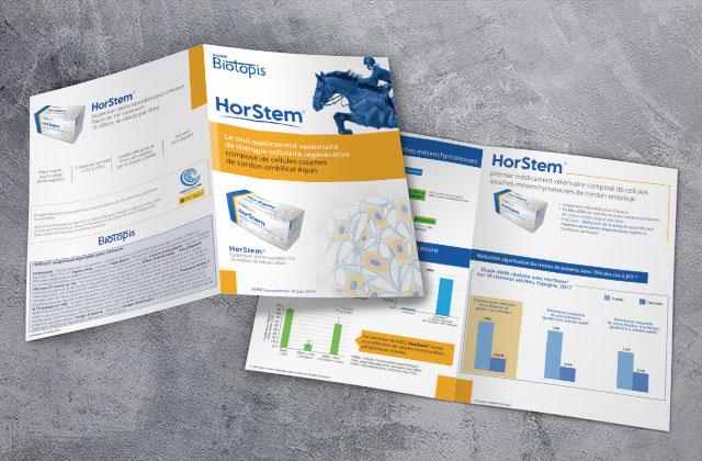 Dépliant Horstem