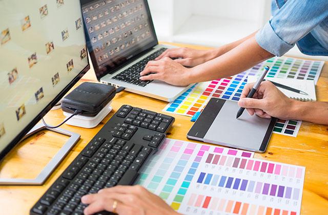 Graphisme web & print